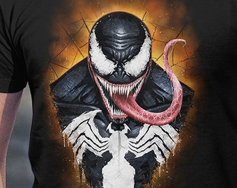 Venom | PREMIUM QUALITY | Superhero | Geek Clothing | T-Shirt | Geek Tee