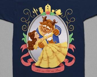 Beauty and the Beast | Children's T-Shirt | Baby Onesie | Cute Princess