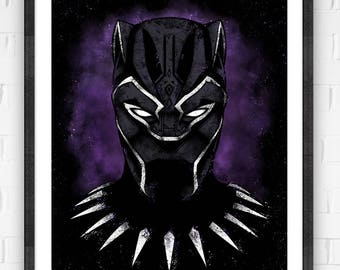 King of Wakanda | Premium Quality Giclee Archival Poster Print