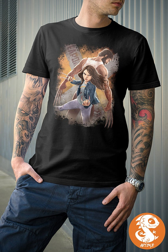 X-Men Wolverine Men/'s T Shirt 100/% Cotton S-5XL Made In USA Marvel Old Man Logan