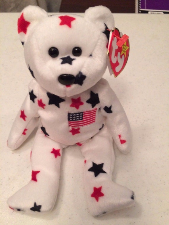 ae7441419a9 Beanie Baby Ty GLORY Retired With Rare Bear