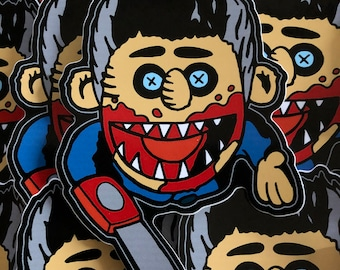 Evil Puppet Decal