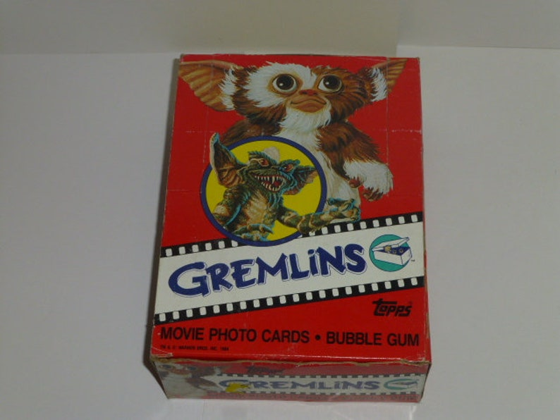 1984 Topps Gremlins Trading Cards Unopened Box 36 Packs