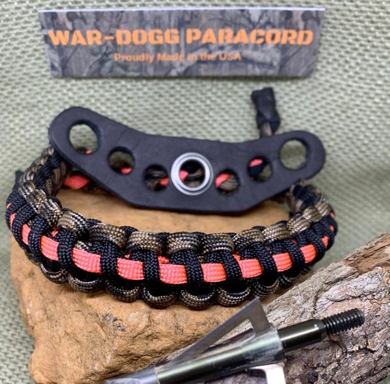Compound Bow Wrist Sling Band Strap Paracord Hunting Archery