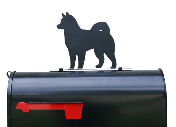 Bulldog Dog Silhouette Mailbox Topper//Sign