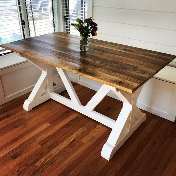 Beau Custom Farmhouse Tables | Etsy