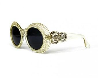 3a83e201c8 Vintage Versace 424 C RH 869OD Sunglasses