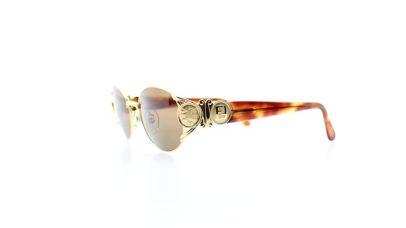 25f38dcfab31 Vintage Fendi FS 296 261 Sunglasses