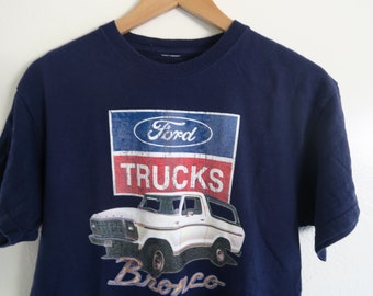 07ea9abce92 80 s Ford Bronco Trucks Authentic Vintage T-shirt