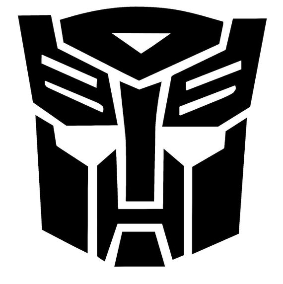 Transformers Autobot Autobots Vinyl Decal Car Window Laptop Etsy