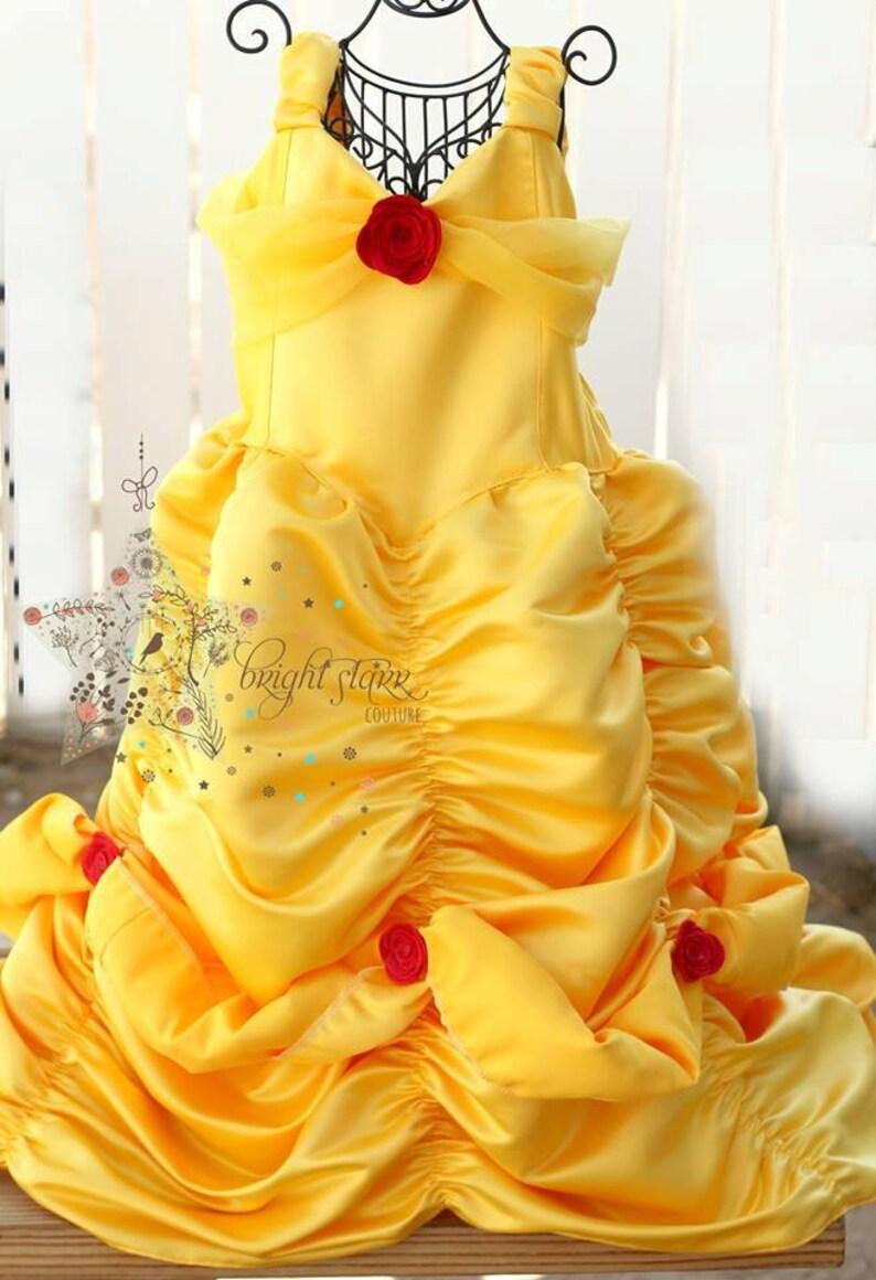 1fbeca7c175 Belle handmade Kleid Halloween-Kostüm Kleid Prinzessin