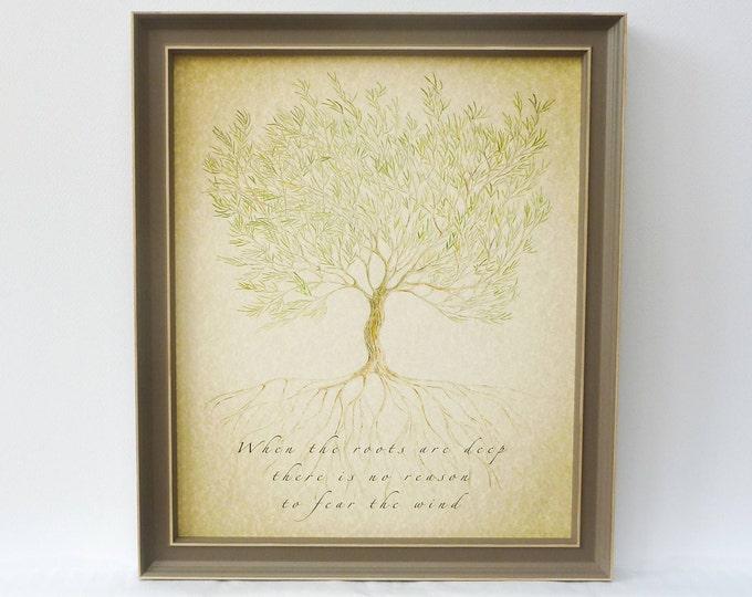 Gift for Parents, Framed Grandparent gift, Family Tree Print, Custom Parents, Personalised Grandparent, Gift for Mum, personalised gift,
