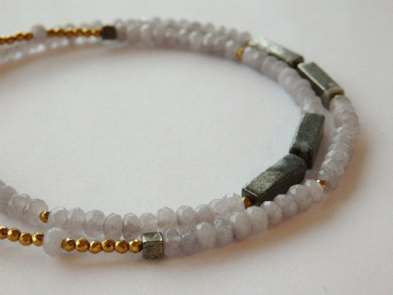 Gemstone Necklace Quartz Jewellery Quartz Necklace Lemon Necklace 14ct Rolled Gold Necklace Lemon Quartz Necklace