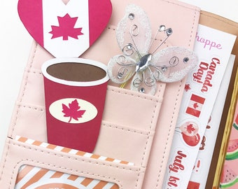 CANADIAN Planner clips/ Bookmarks