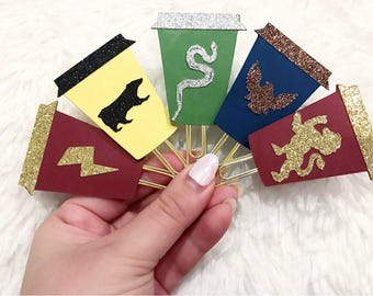 WIZARD COFFEE Planner Clips/ BookMarks