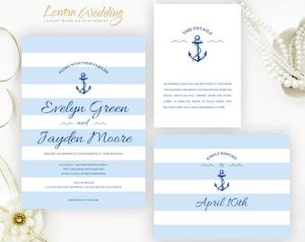 Cruise wedding invitations | Etsy