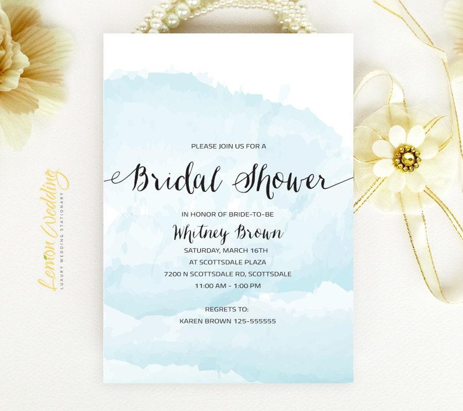 Wedding Bridal Shower Invitations Cheap Beach Bridal