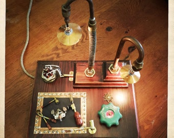 Steampunk Desk Lamp - Executive Gift - free postage in AU
