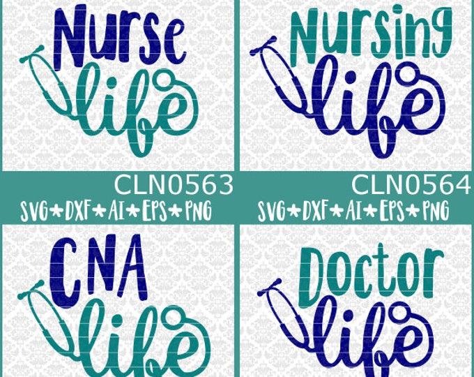 Nurse Svg, Nurse Life Svg, Cna Svg, CNA Life Svg, Stethoscope Svg, Nurse Svg Files, Nursing Svg, Doctor Svg, Svg Bundle, Nurse Bundle Svg,