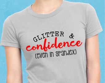 Confidence, Cheerleader, Cheerleading, Svg, Cricut, Silhouette, Cutting File, Cheer shirt, Sale, Cheap, Clearance, Download, Sublimation