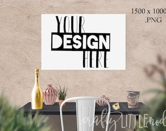 Download Free Mockup Mock Up 30 x 20 femine Stylized Photography SVG Blank Printable PNG Garden Boho Desk Wall Chair Wine Blanks Commercial Use Photo PSD Template