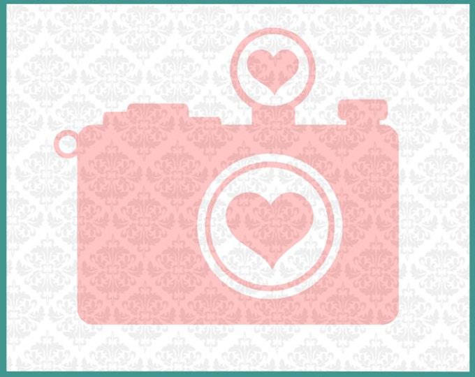 Camera svg, Photographer Svg, Photograph svg, Heart Camera svg, Photographer Pride Svg, Camera Clipart Svg, Cutting File, Cricut, Silhouette