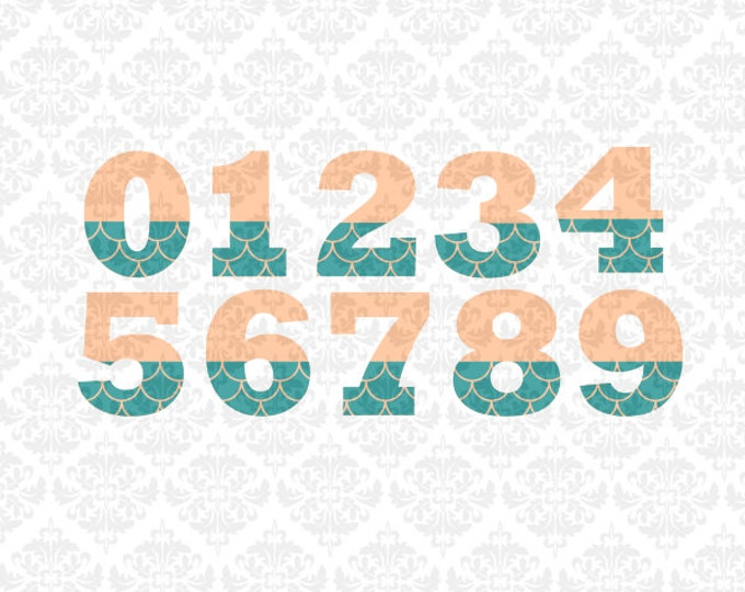 Mermaid Alphabet svg, Mermaid numbers svg, Mermaid svg, Mermaid Font, Mermaid Tail Letters svg, Mermaid Birthday svg, Cricut, Silhouette
