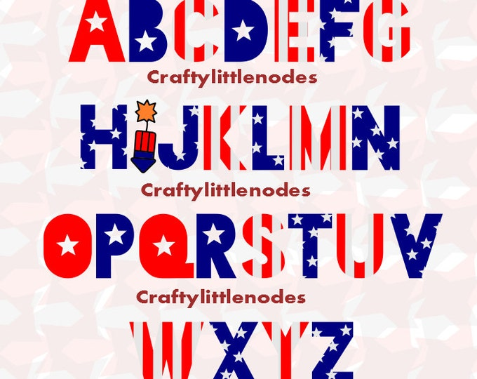 Fourth Of July Independence Day SVG file Ai EPS Scalable Vector Instant Download Commercial Use Cutting File Cricut Explore Silhouette