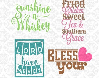 Southern Quotes Scalable Vector SVG STUDIO Eps Ai Scalable Vector Instant Download Cutting File Commercial Use Cricut Silhouette Explore