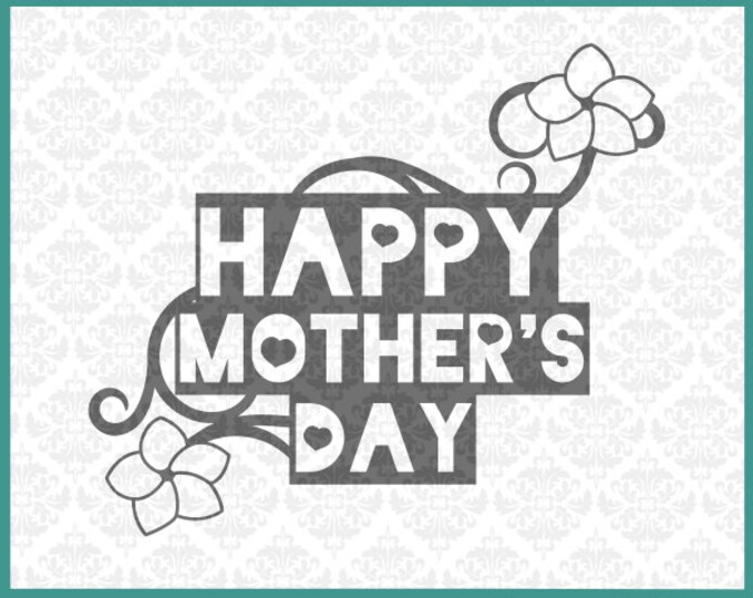CLN005 Mother's Day Mom's Day Dandelion Grow Gardener Mason Jar SVG Ai EPS Scalable Vector Instant Download Commercial Use Cricut Silhouette