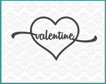 CLN016 Forever and Always Valentines Romance Anniversary SVG DXF Ai Eps PNG Vector Instant Download Commercial Cut File Cricut Silhouette
