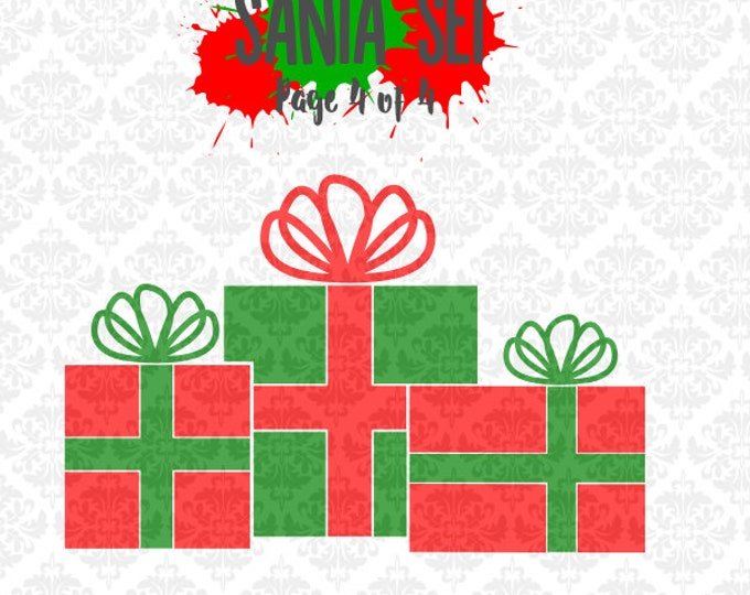 Christmas presents svg, Christmas svg, Santa svg, Reindeer Svg, Reindeer Cookies svg, Santa's cookies svg, Merry Christmas svg, Cricut