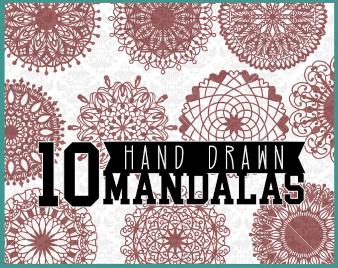 Mandala Svg, Mandala Bundle Svg, Mandalas Svg, Mandala Monogram Svg, Mandala Pack Svg, Mandala Set Svg, Zentangle Svgs, Cutting Files,
