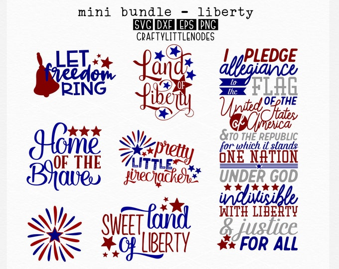 BUNDLE, Patriotic, Memorial, 4th Of July, Svg, Png, Sign Designs, Sign Svg, Cutting File, Cricut, Silhouette, Independence, America, Liberty