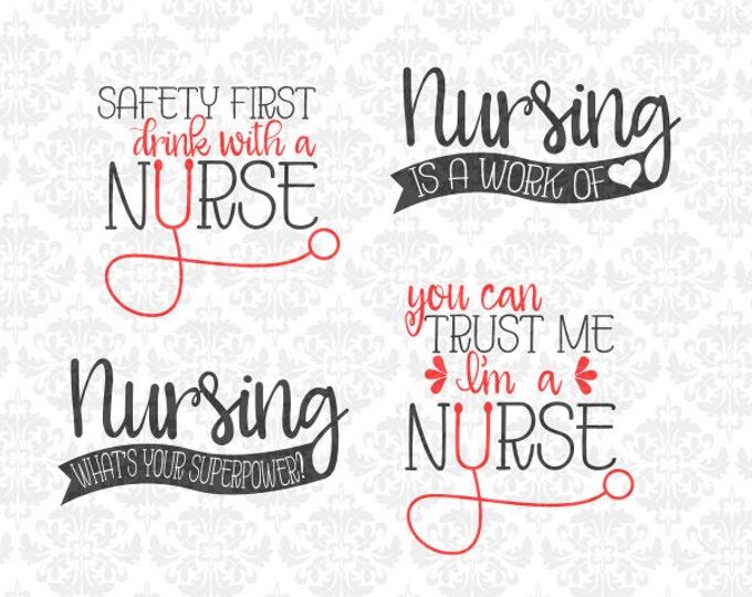 Nurse svg, Nursing svg, Nurse student svg, Nurse shirt svg, Nurse shirt svgs, Funny Nurse Shirt Svg, Nursing Gift svg, Cricut, Silhouette