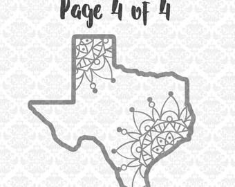 Texas Mandala svg, Texas Zentangle Svg, Texas Svg, Texas state svg, Texas State Shape Svg, Texan Pride Svg, Texan Svg, Texas PRide svg, Svgs