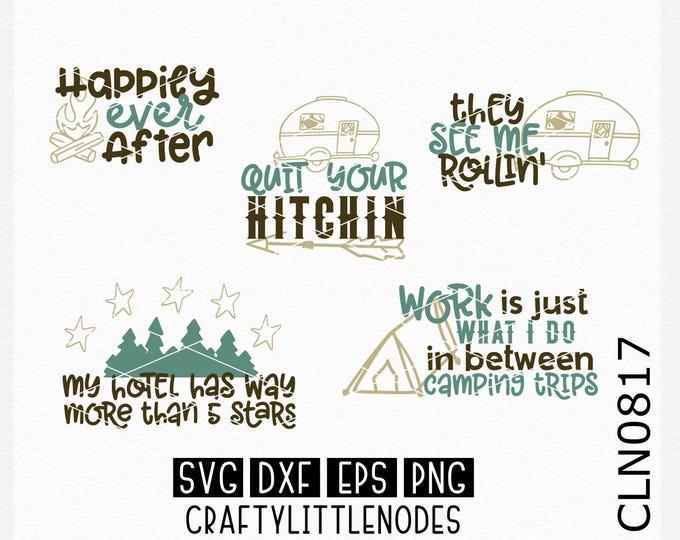 Camping Svg, Camper Svg, Travel Svg, Mountains Svg, Camp Svg, Campfire Svg, camper drawing svg, happy camper svg, adventure svg, Cricut, svg