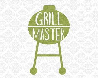 Grilling Grill Master King of the Grill Father's Day  SVG STUDIO Ai EPS Scalable Vector Instant Download Commercial Use Cricut Silhouette