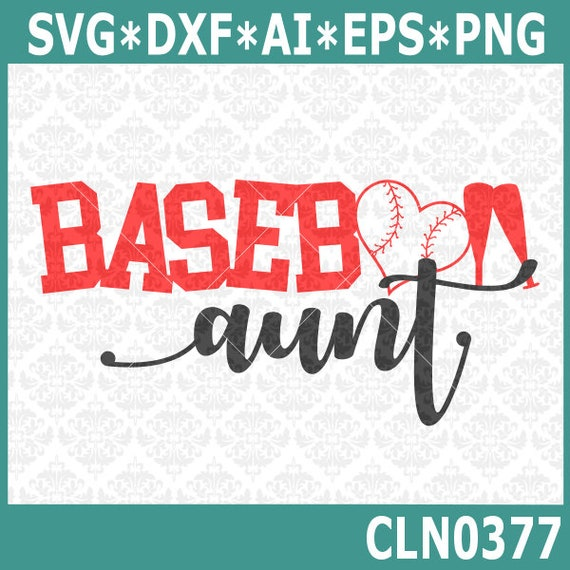 Cln0377 Baseball Aunt Uncle Sister Brother Family Shirts Svg Etsy