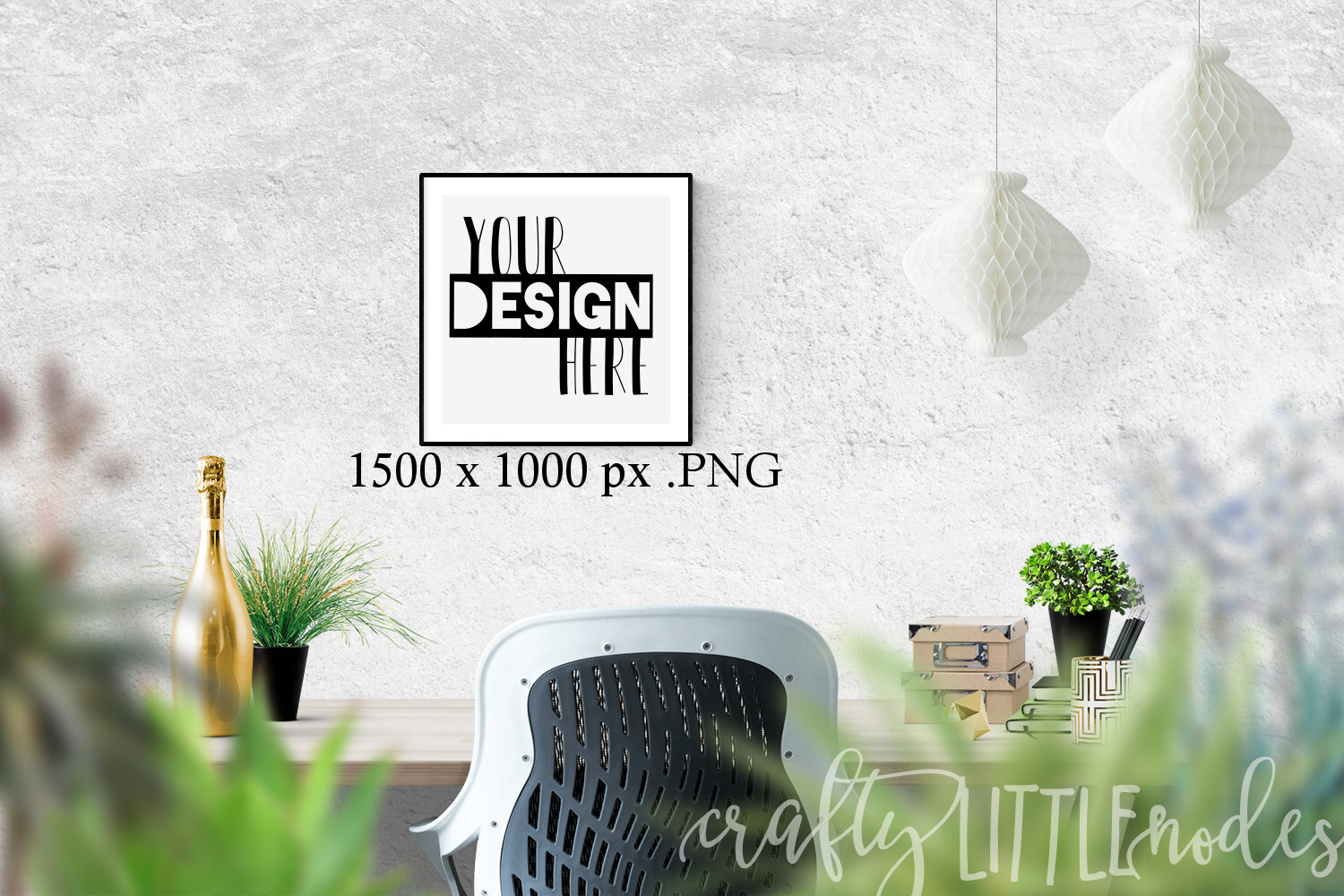 mockup 12 x 12 empty frame template for printables svg blank
