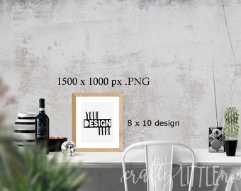 Mockup Mock Up 8 by 10 8x10  Stylized Photography SVG Blank Printable PNG Garden Boho Desk Wall Chair Wine Blanks Commercial Use Photo