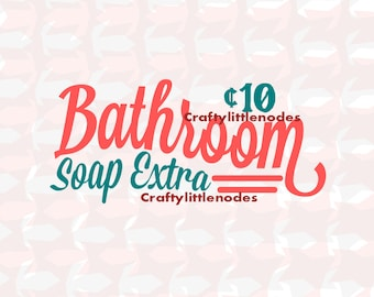 2 Room Signs Bathroom and Laundry SVG STUDIO Ai EPS scalable vector instant download commercial use cricut explore silhouette cutting file