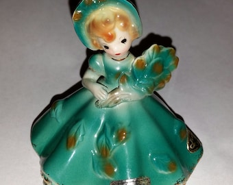 Josef Originals Figurine September Marked and Labeled