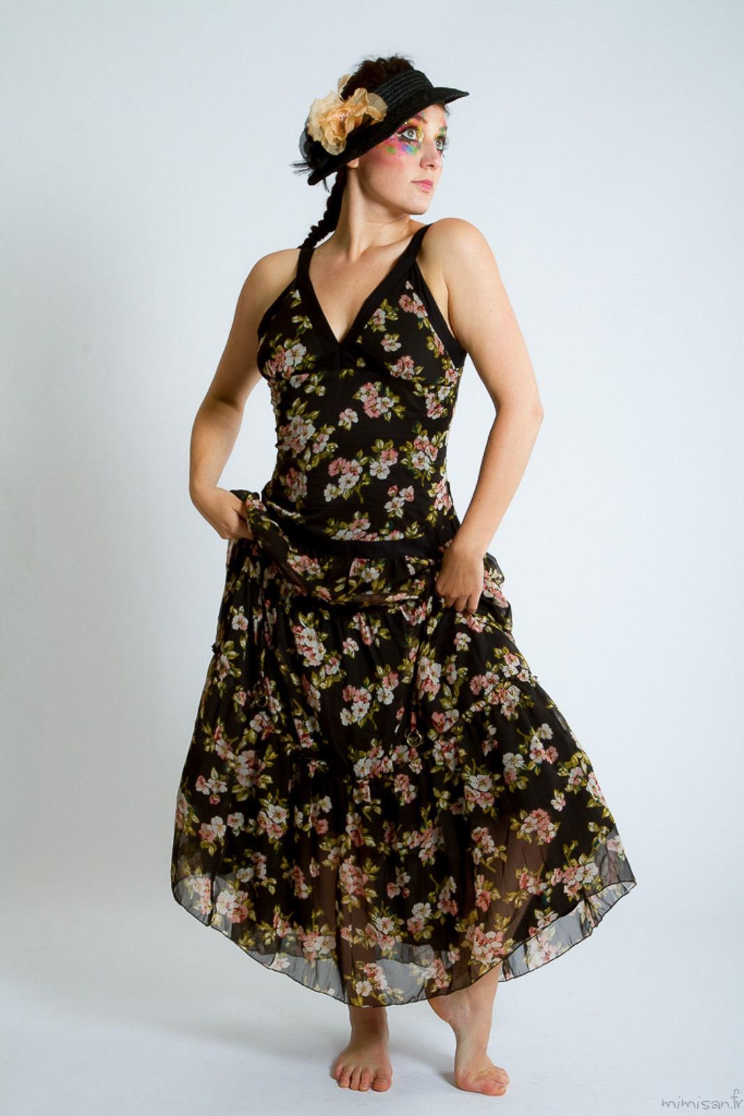 promorobe longue boh me robe de soir e robe de bal. Black Bedroom Furniture Sets. Home Design Ideas