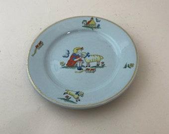 Vintage Mark Buffalo China Rectangular Plate Farmhouse Ironstone