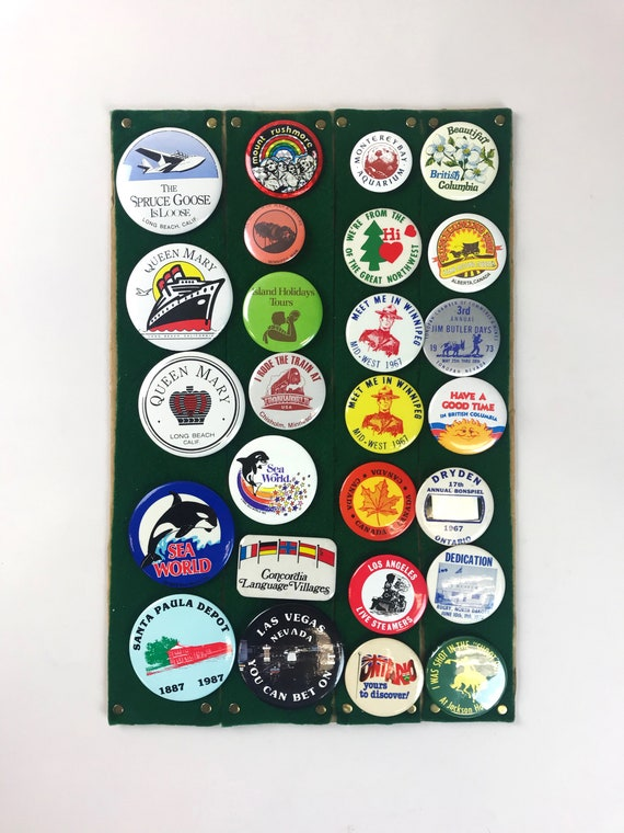 Travel buttons