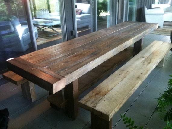 Strange Exterior Barnwood Table And Benches Ibusinesslaw Wood Chair Design Ideas Ibusinesslaworg