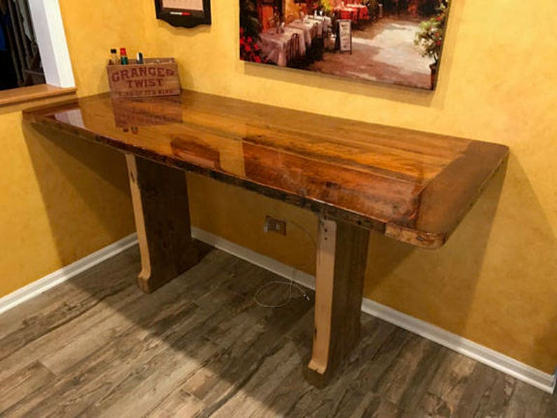 Reclaimed Barnwood Kitchen Table