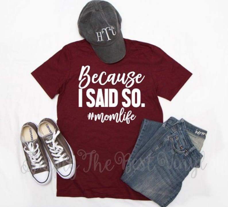 20b49a74 Mom Shirts with Sayings Funny Mom T Shirt Funny Mom Shirt | Etsy