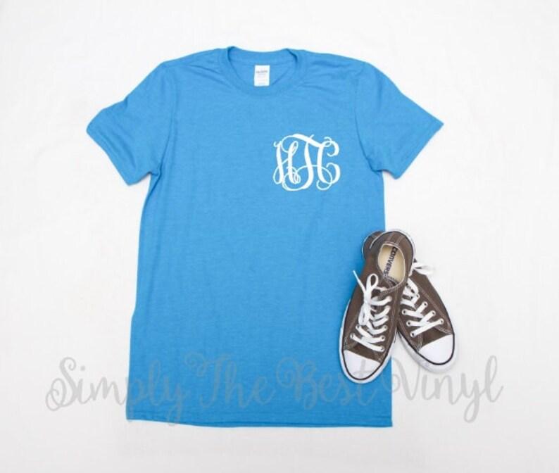 0dc5548c2ebcc SALE!! Monogrammed Shirt | Monogram Shirt | Monogram T-shirt | Monogram  Tshirt | Personalized Shirt | Monogram Tee | Monogrammed Tee